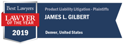 Product Liability Litigation Lawyer of the Year 2019