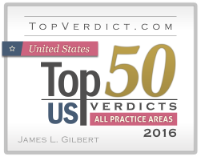 TopVerdict.com Top 50 US Verdicts in All Practice Areas 2016
