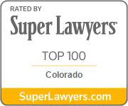 Rated by Super Lawyers Top 100 in Colorado